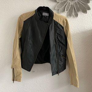 Cute two tone Moto jacket